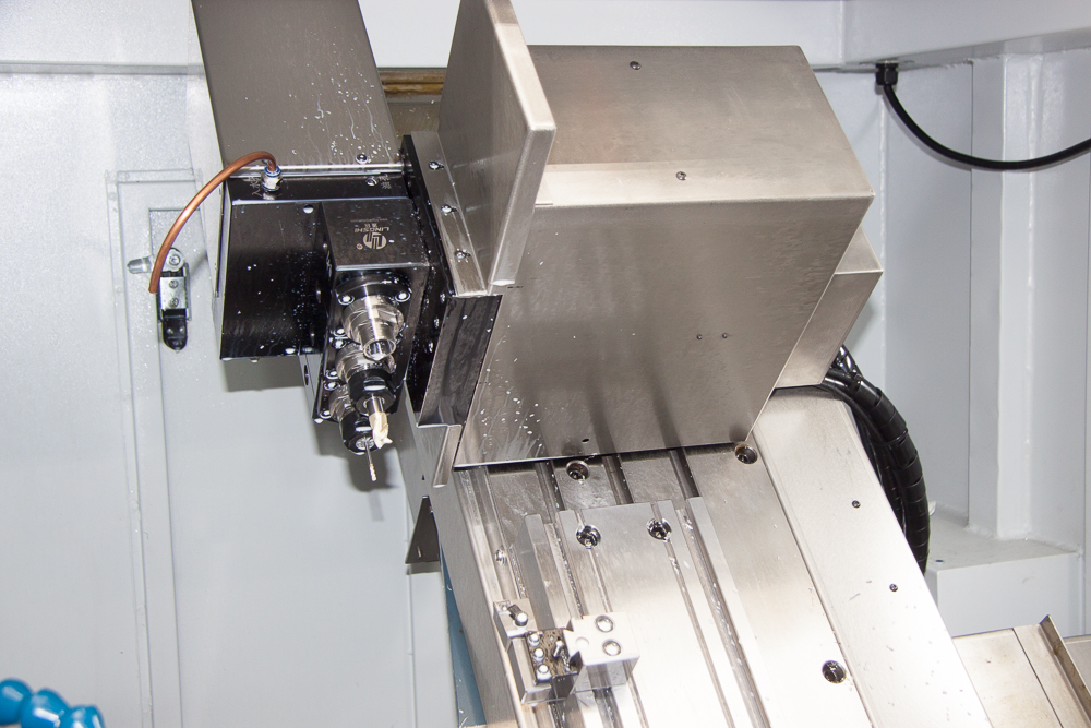 Y-Axis Module Two Axially and Three Radially Mounted Spindles ER-20
