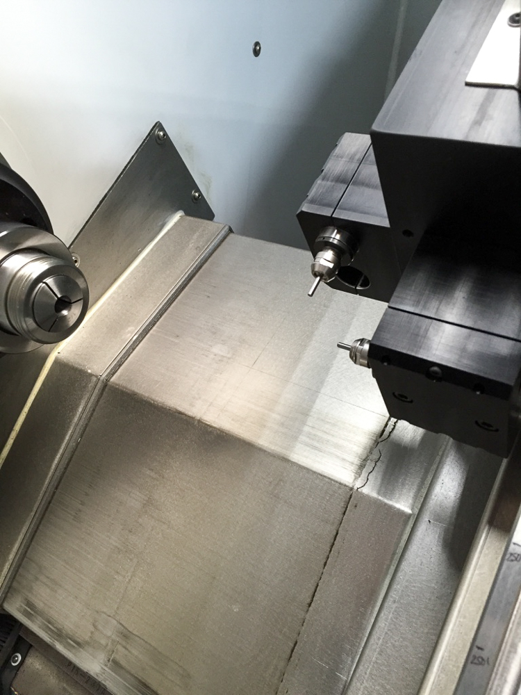 Y-Axis Module with NSK Spindles One Axail and One Radial Spindle